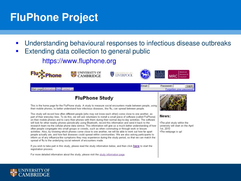FluPhone Project