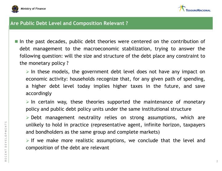 Are Public Debt Level and Composition Relevant ?