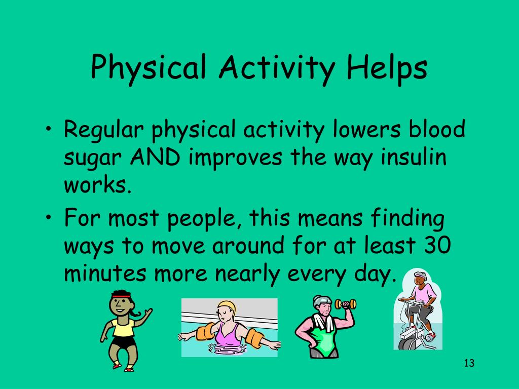 Physical Activity Helps
