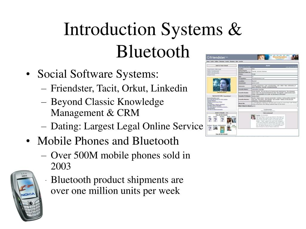 Introduction Systems & Bluetooth