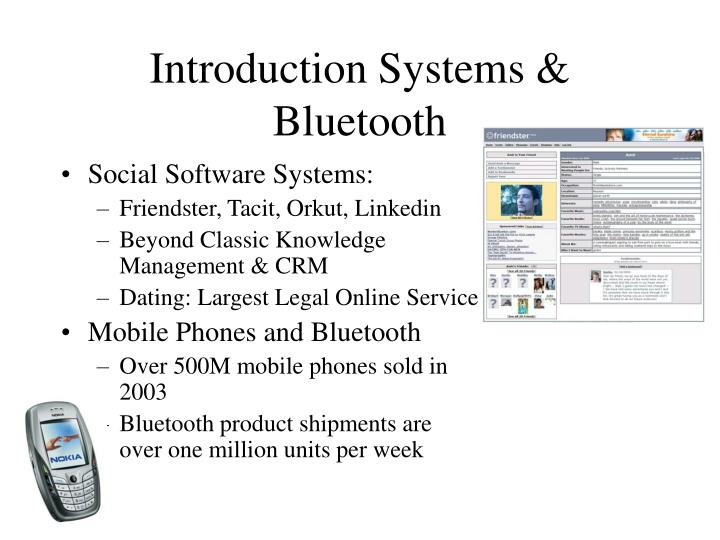 Introduction systems bluetooth