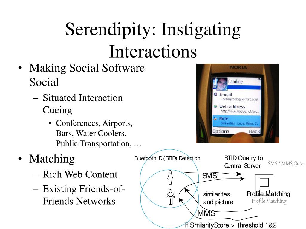 Serendipity: Instigating Interactions