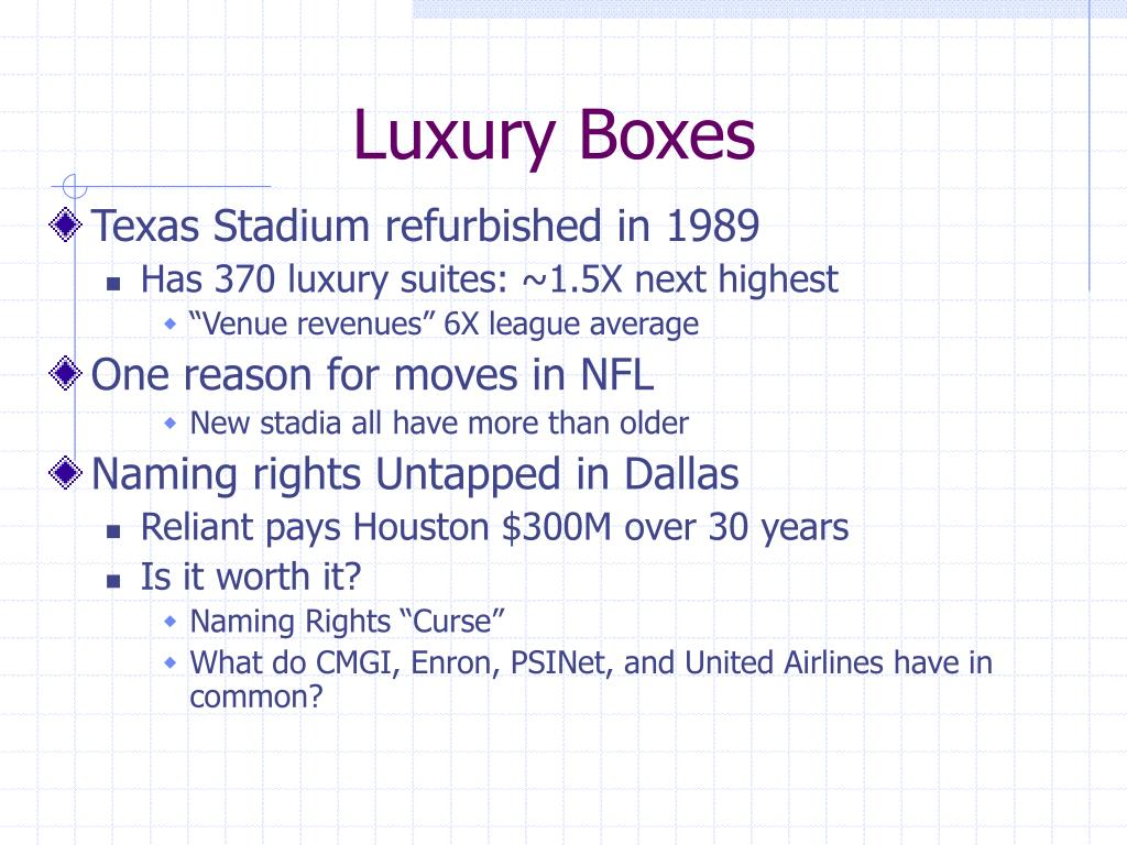 Luxury Boxes
