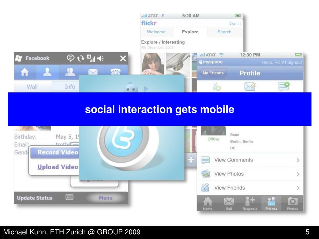 social interaction gets mobile