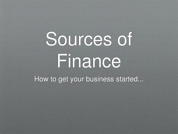 Sources of finance l.jpg