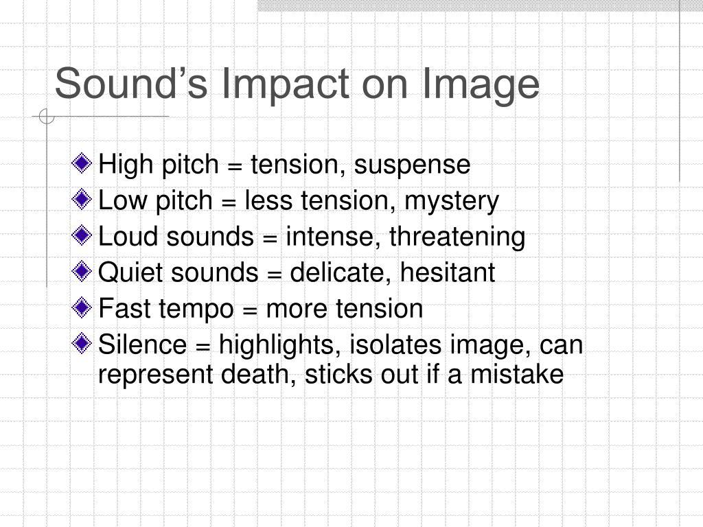 Sound's Impact on Image