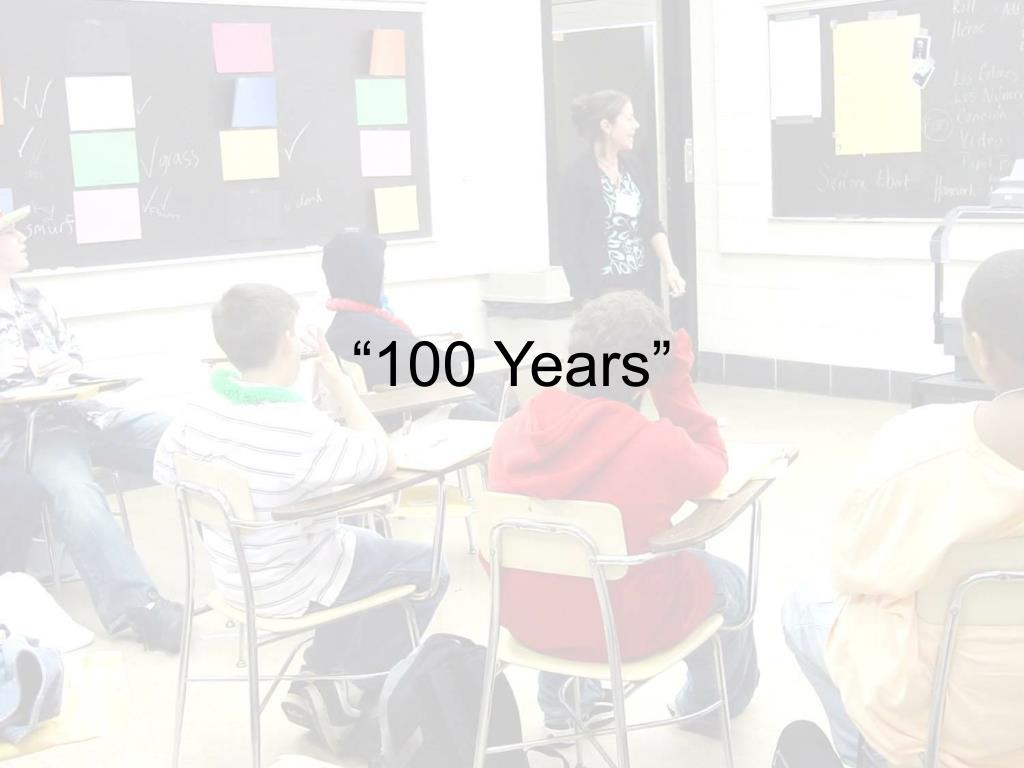 """100 Years"""