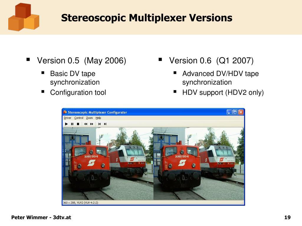Version 0.5  (May 2006)