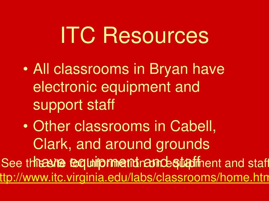 ITC Resources