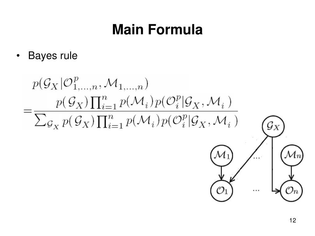 Main Formula