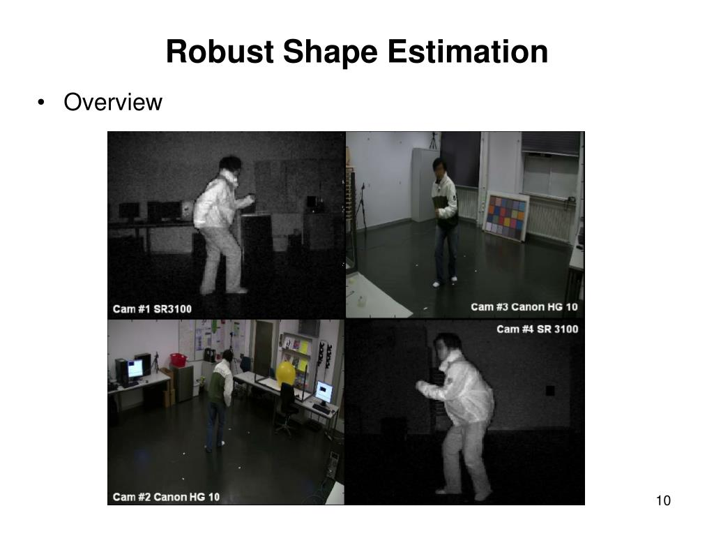 Robust Shape Estimation