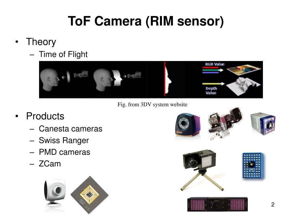 ToF Camera (RIM sensor)