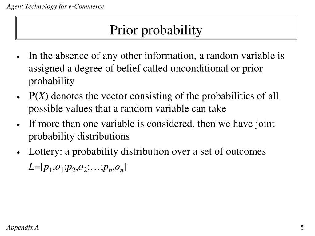 Prior probability