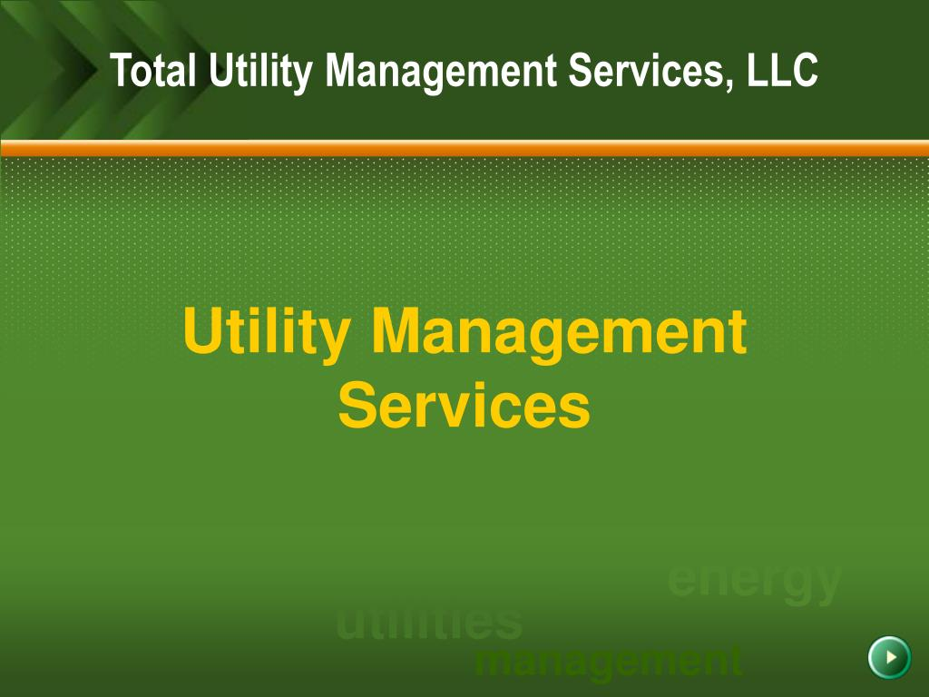 Total Utility Management Services, LLC
