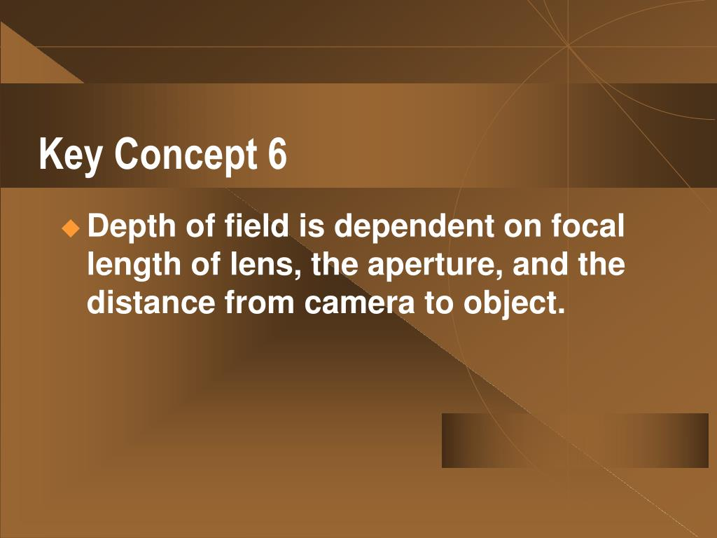 Key Concept 6