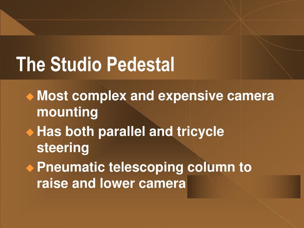 The Studio Pedestal