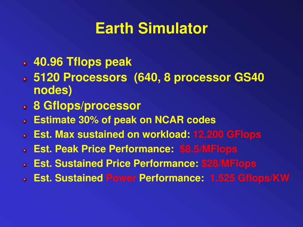 Earth Simulator
