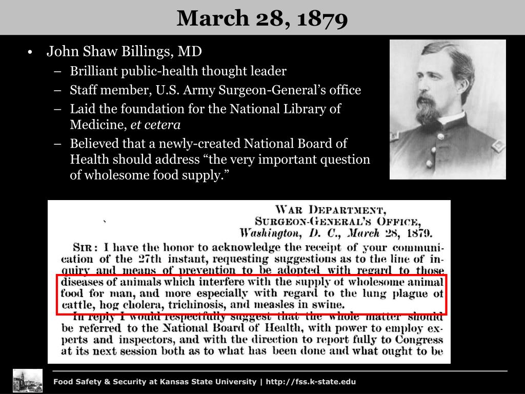 John Shaw Billings, MD