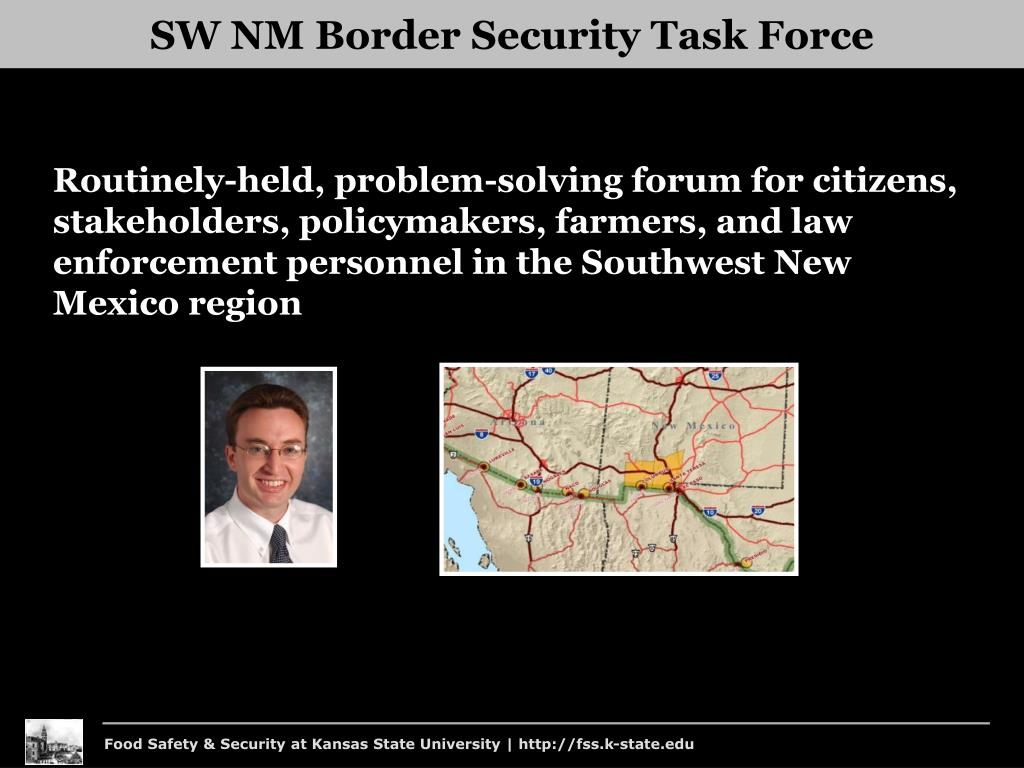SW NM Border Security Task Force