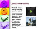 companion products