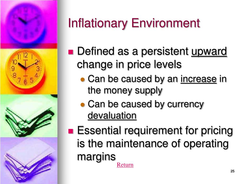 Inflationary Environment