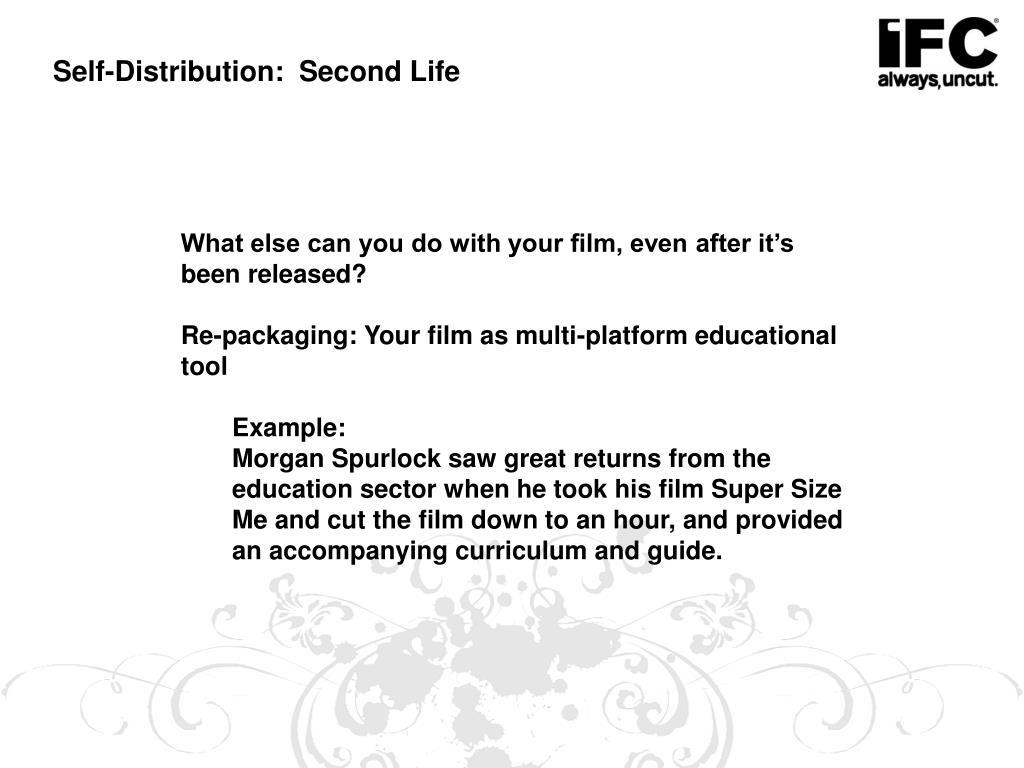 Self-Distribution:  Second Life