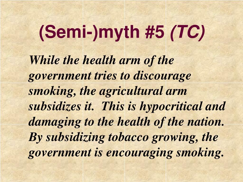 (Semi-)myth #5