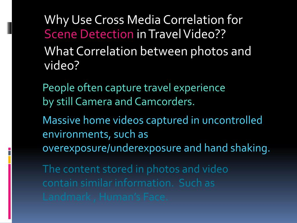 Why Use Cross Media Correlation for