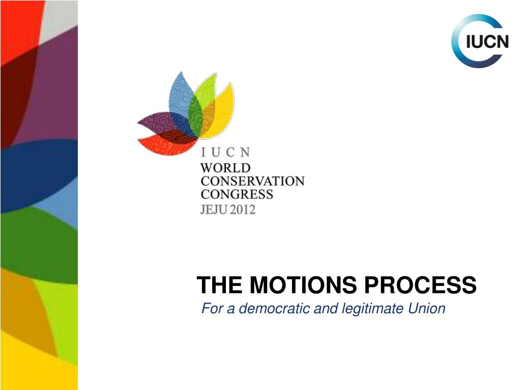 the motions process