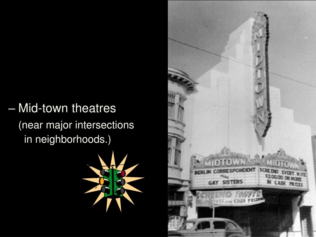 Mid-town theatres
