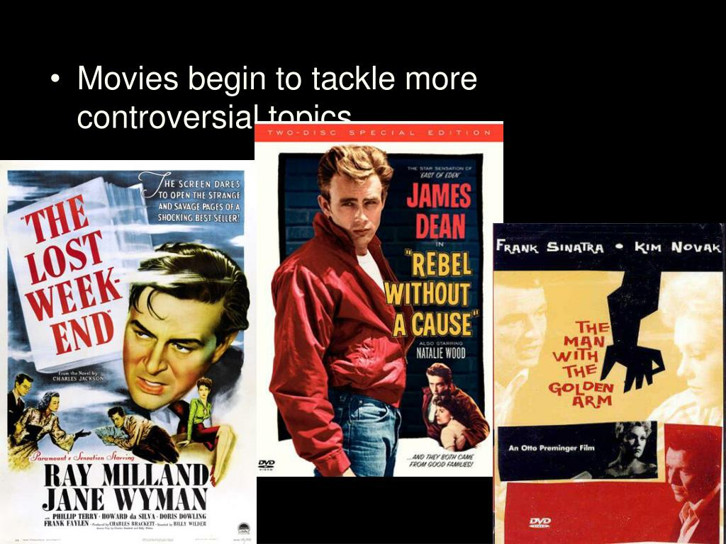 Movies begin to tackle more controversial topics
