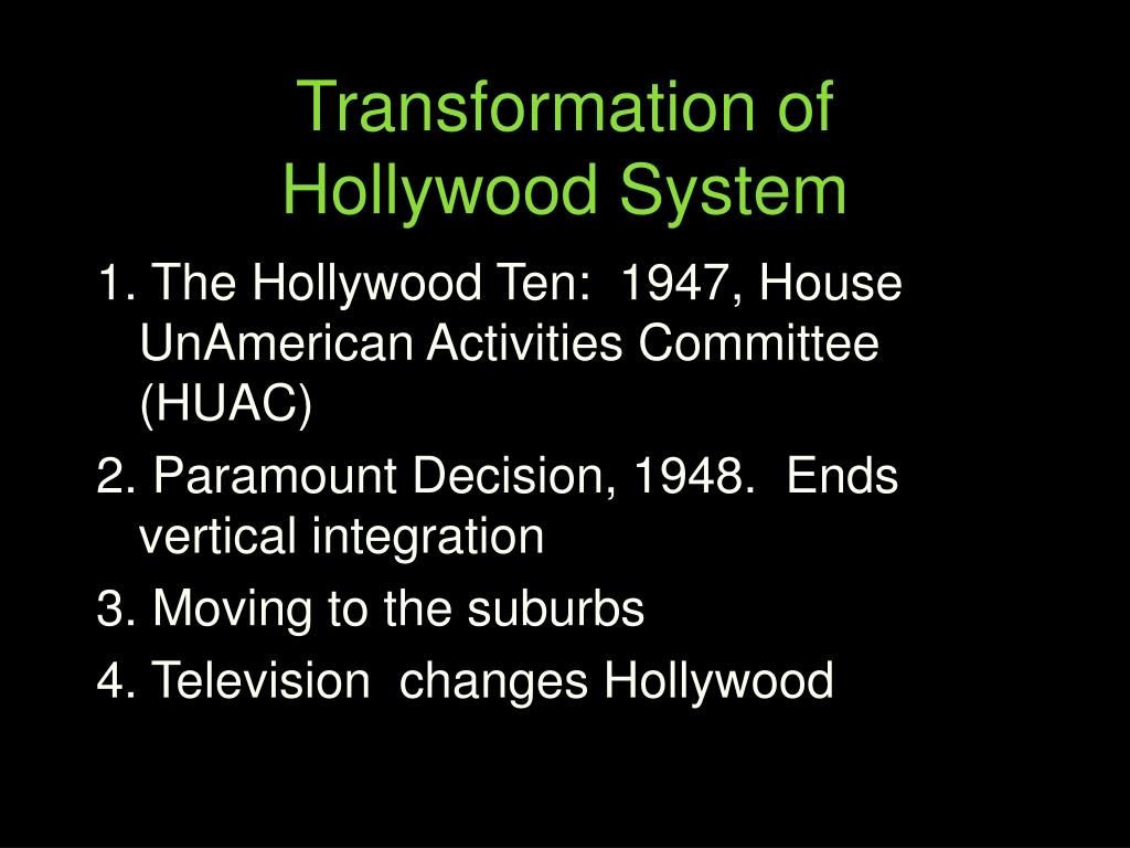 Transformation of