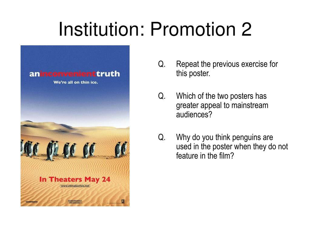Institution: Promotion 2
