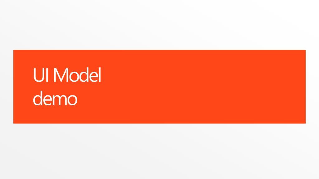 UI Model
