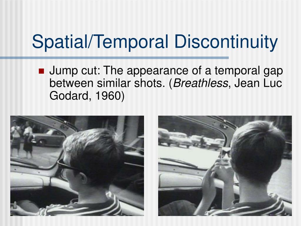 Spatial/Temporal Discontinuity