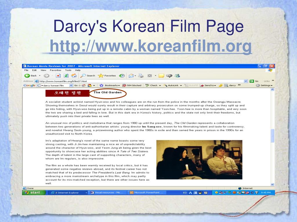 Darcy's Korean Film
