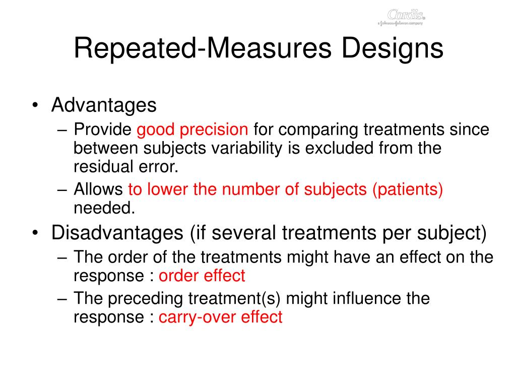 Repeated-Measures Designs