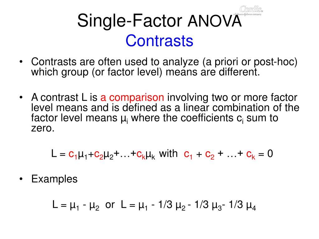 Single-Factor