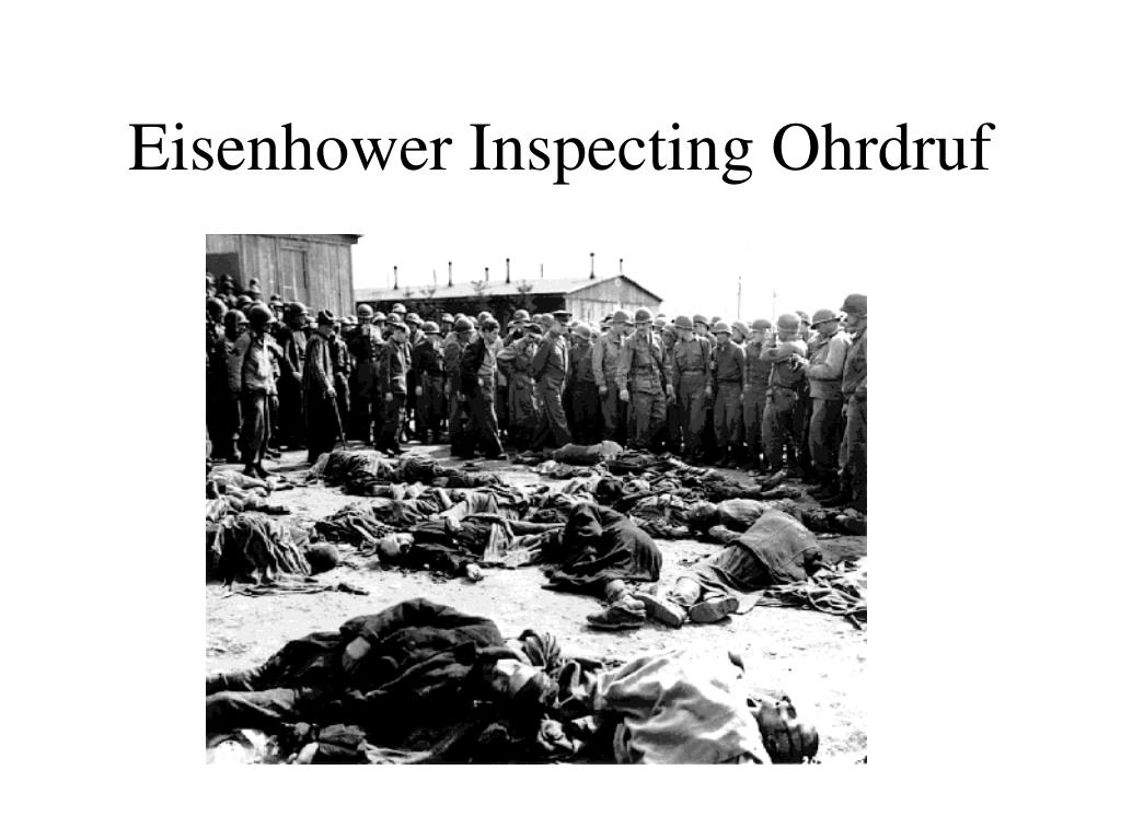 Eisenhower Inspecting Ohrdruf