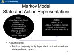 markov model state and action representations