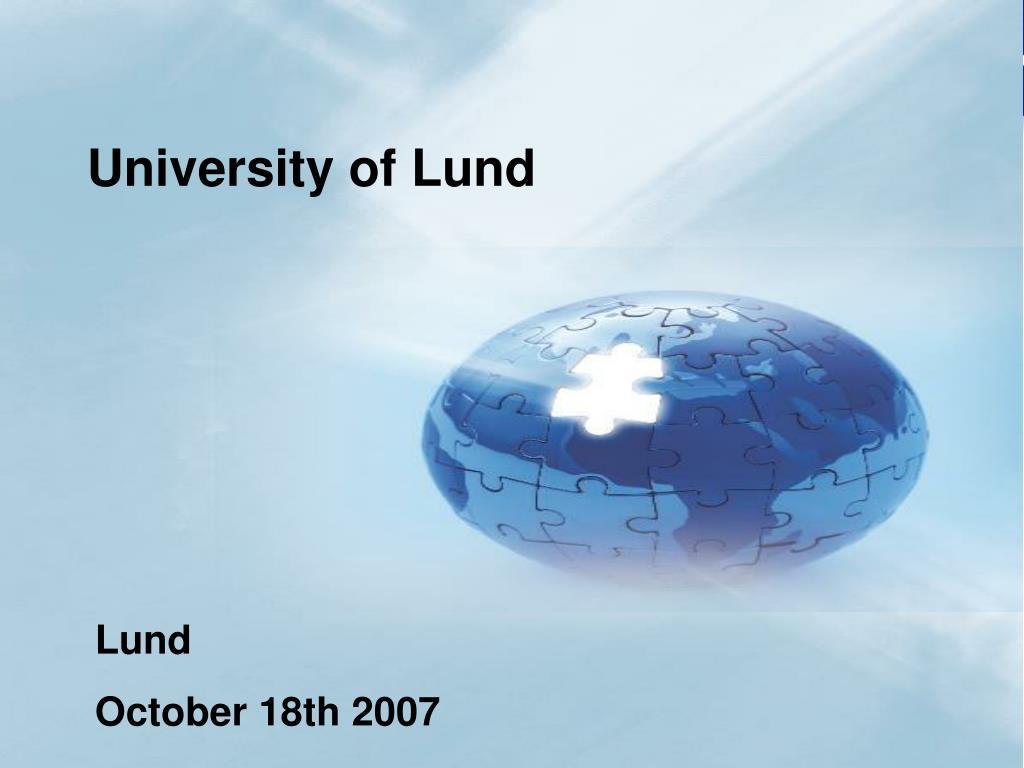 University of Lund