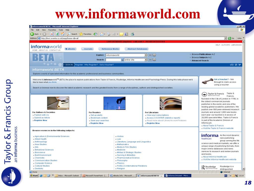www.informaworld.com