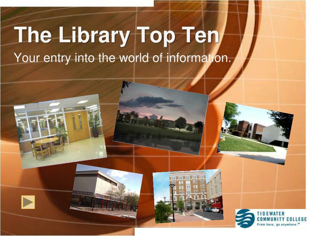 The Library Top Ten