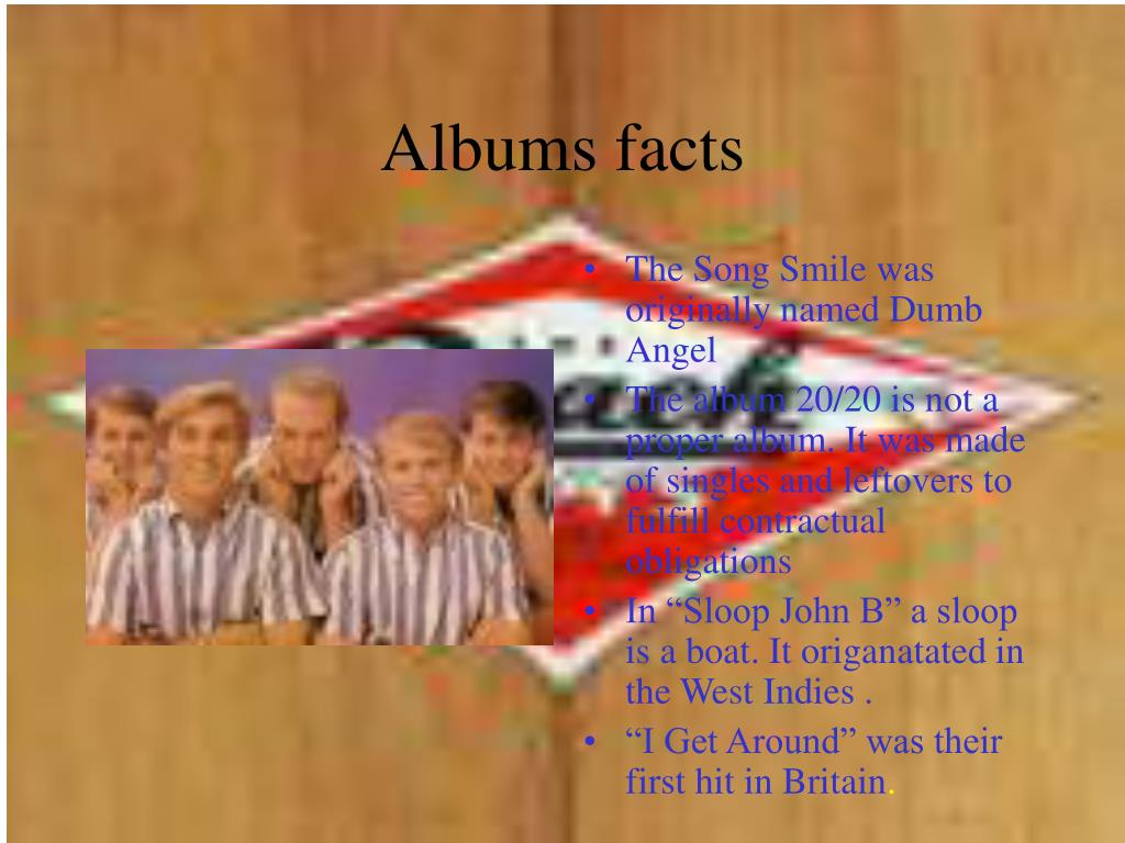 Albums facts