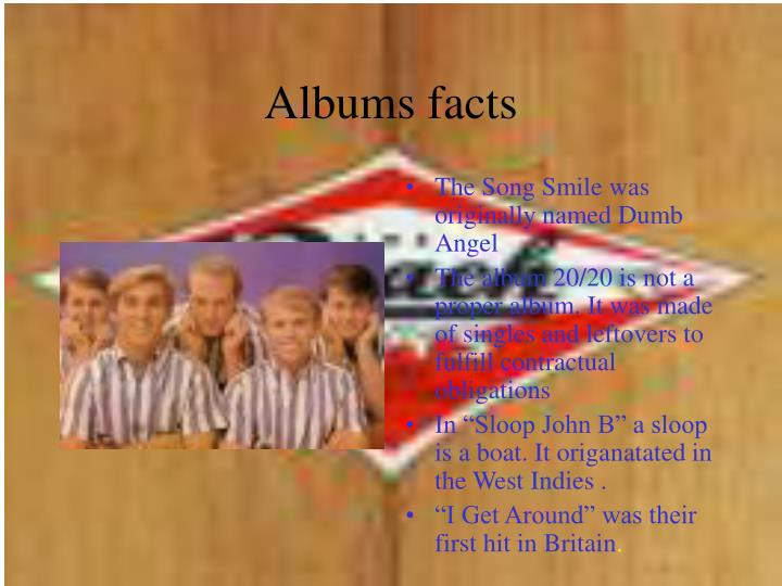 Albums facts l.jpg