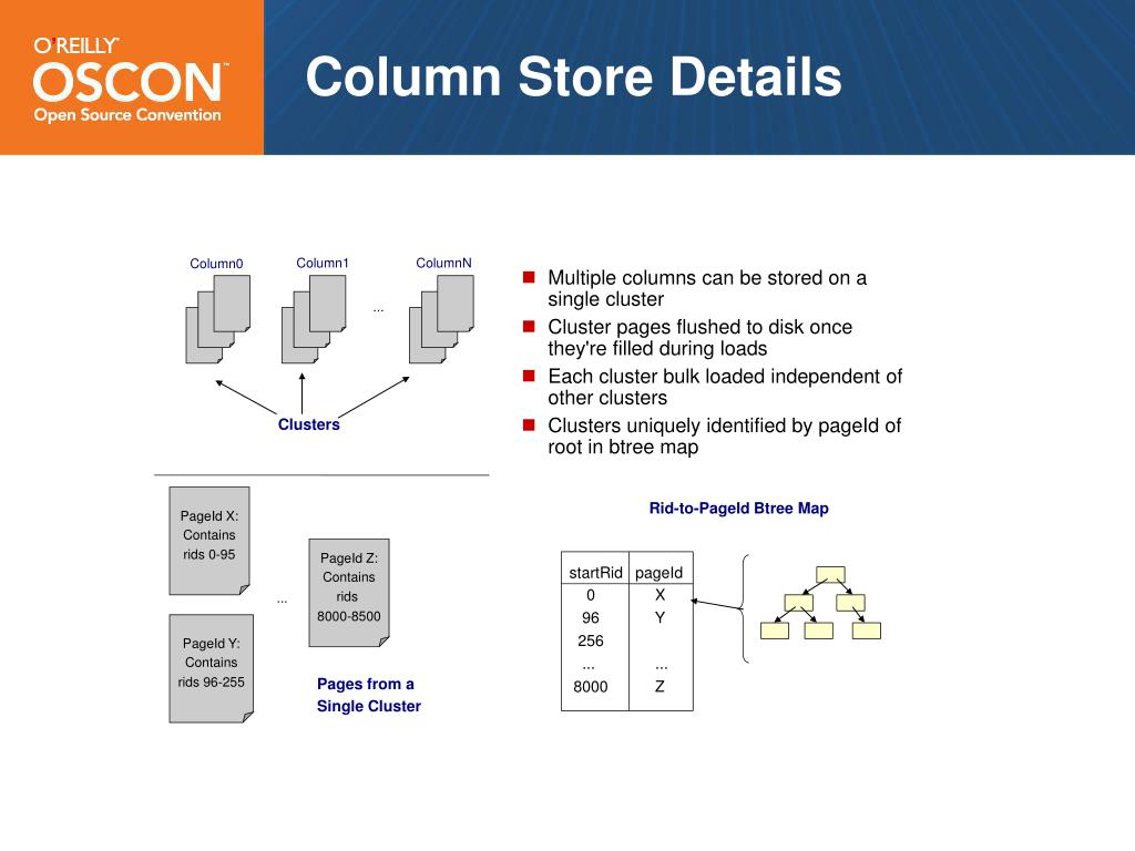 Column Store Details