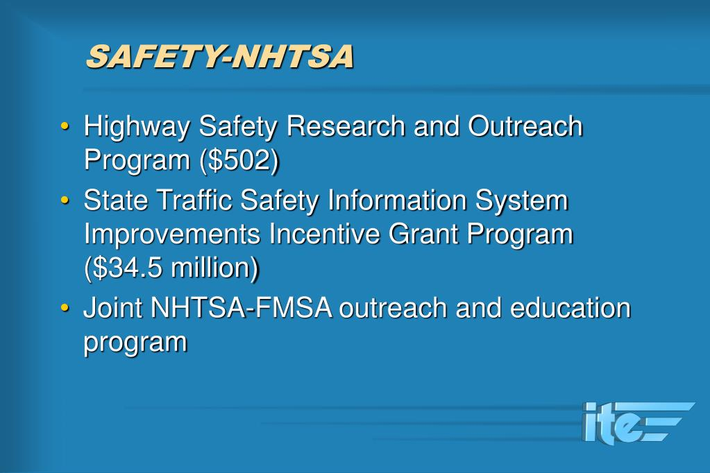 SAFETY-NHTSA