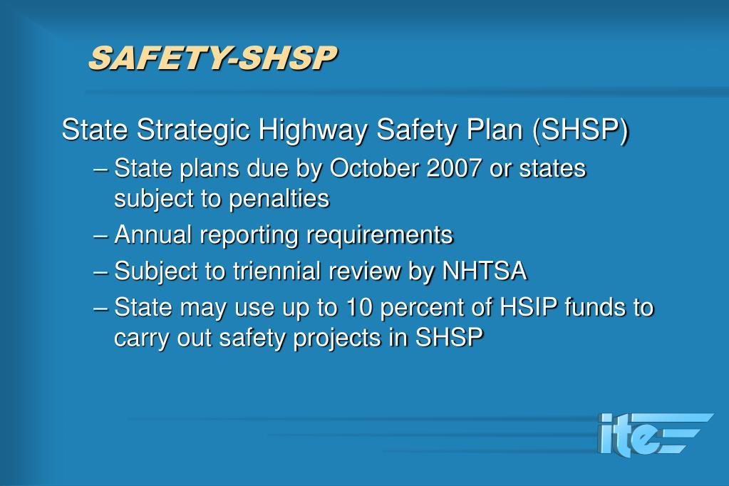 SAFETY-SHSP