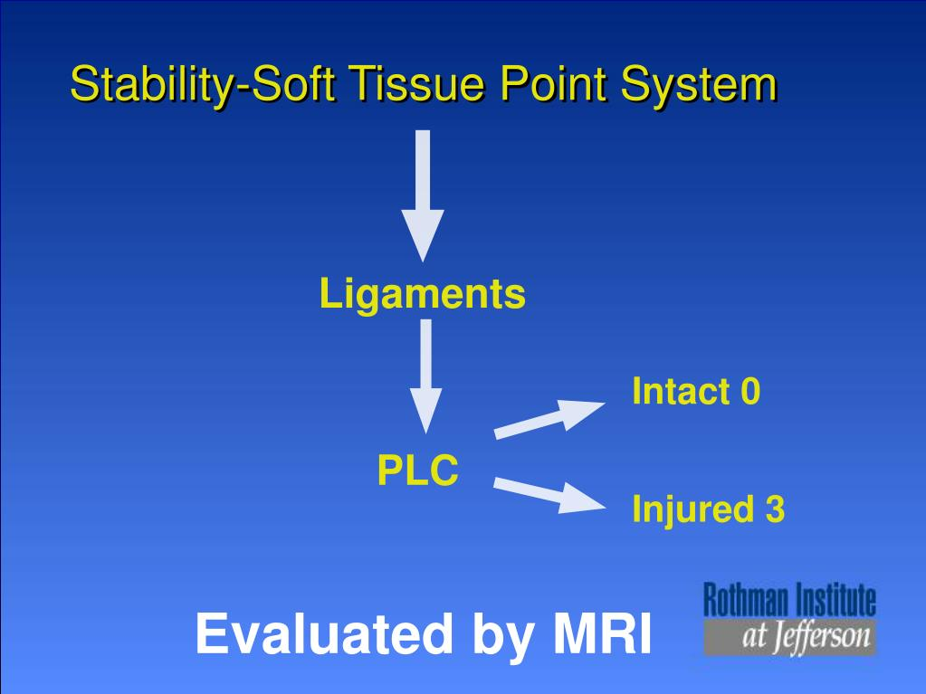 Stability-Soft Tissue Point System
