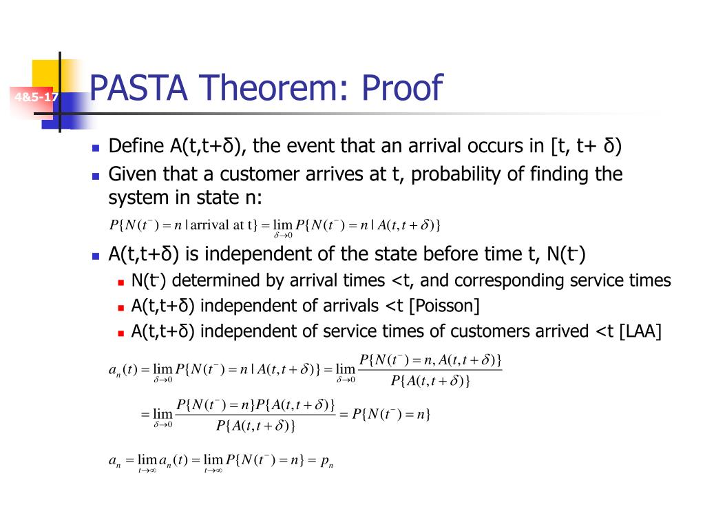 PASTA Theorem: Proof
